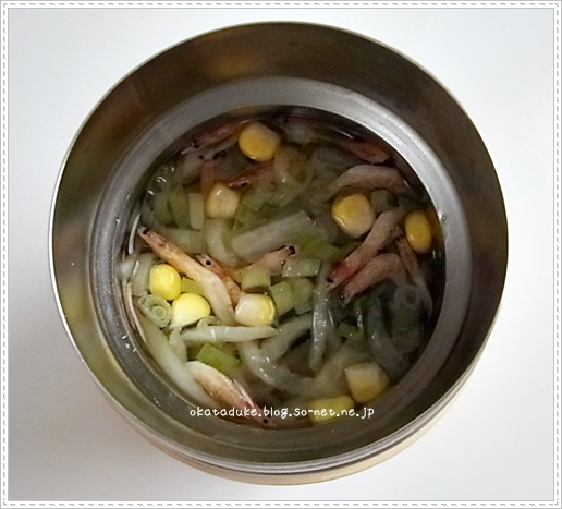 乾物と春雨のスープ