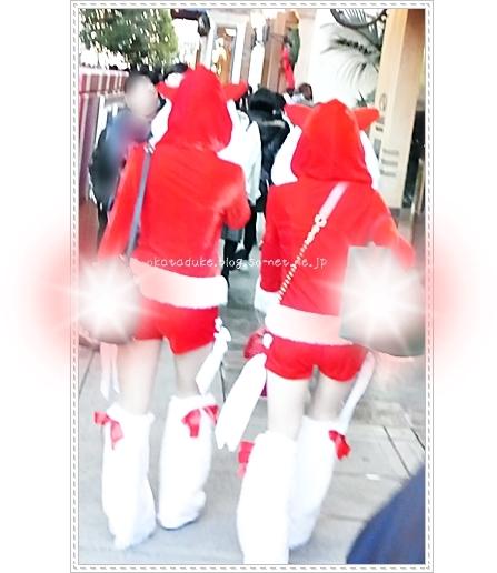 USJ クリスマスコスプレ衣装
